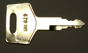 IHI keys #069027029 - IHI # 069027029 Excavator Keys.  Price is per <b>pair</b>.