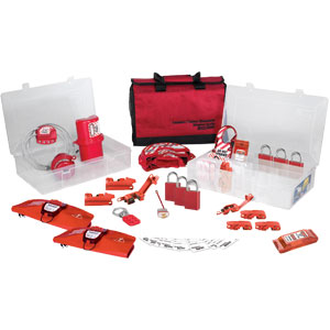 Group Lockout Kit - Valve and Electrical (Aluminum Locks)