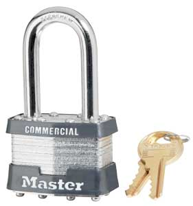 1kalf Commercial Standard Security Padlock Long Shackle