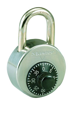 how to fix a jammed master combination lock