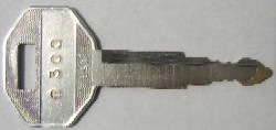 Daewoo keys #2172-00218 - Daewoo #2172-00218 Excavator. Price is per <b>pair</b>.