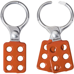 "Safety Lockout Hasp (Orange) 1.5"" Jaw"