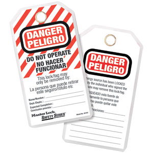 Safety Tag - Spanish Language