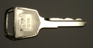 Toyota Forklift keys #511416 - Toyota #511416 Forklift keys.  Price is per <b>pair</b>.