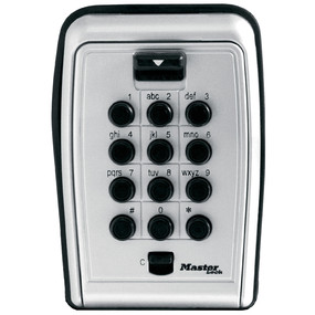 Set Your Own Combination Push Button Wall Mount Lock Box