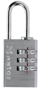 "620D - Master # 620D set your own combination padlock, 13/16"" wide body"