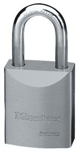 "7030KA - Master Pro Series #7030 Keyed Alike; 1 9/16"" Solid Steel Padlock; 1 1/16"" Boron Alloy Shackle"