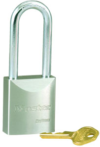 "7030KALT - Master Pro Series #7030 Keyed Alike; 1 9/16"" Solid Steel Padlock; 3"" Boron Alloy Shackle"