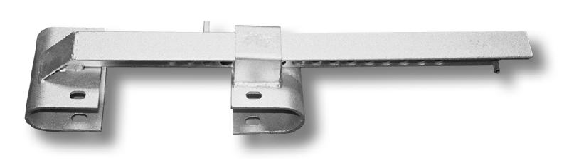 CPADJ110 - Hook-Um Adjustable Trailer Door Lock without padlock