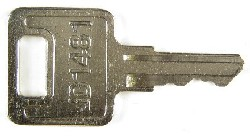 MultiQuip keys #AR51481-MQ - MultiQuip #AR51481-MQ 60 & 70 KVA Genset keys.  Price is per <b>pair</b>.