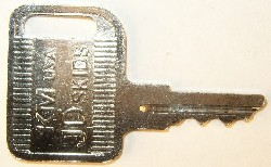 Deere keys #KV13427 - Deere #KV13427 Skid Steer Keys.  Price is per <b>pair</b>.