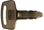 Kubota keys #RC101-53630 - Kubota #RC101-53630 Loader, Mini-Excavator Keys.  Price is per <b>pair</b>.