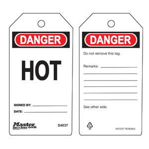 Safety Tag - Hot