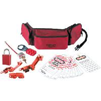 Personal Lockout Pouch Kit - Electrical (Aluminum Lock)
