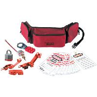 Personal Lockout Pouch Kit - Electrical (Laminated Steel Lock)