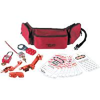 Personal Lockout Pouch Kit - Electrical (Xenoy Lock)