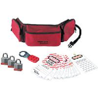 Personal Lockout Pouch Kit - Keyed Alike (Laminated Steel Locks)