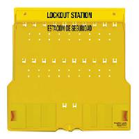 Plastic 20 Lock Padlock Station English / Spanish