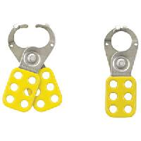 "Safety Lockout Hasp (Yellow) 1"" Jaw"