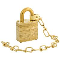 5340-00-291-4204 - Master Lock Laminated Brass Padlock; Master Keyed Set of 100 Locks