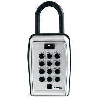 Set Your Own Combination Push Button Portable Lock Box