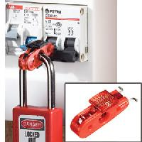 Miniature Circuit Breaker Lockout (Red Tab) - Wide Toggles)