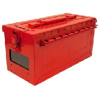 Portable Group Lock Box with Key Window